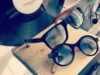 Vinyl on Wood by Jefferson Eyewear